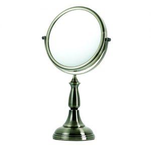 Danielle-Creations-Miroir-sur-pied-grossissant-x-8-Bronze-bross-vernis-20-cm-0