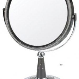 Danielle-Miroir-sur-pied-grossissant-x-10-20-cm-Perle-noirechrome-0