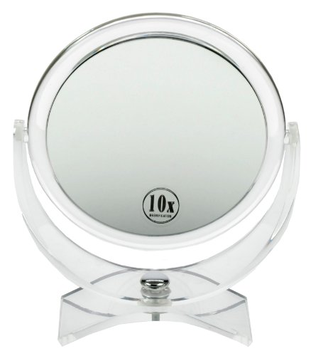 Fantasia-Miroir-grossissant-double-face-x-10-et-x-1-sur-pied-Acrylique-Hauteur-21-cm–17-cm-0