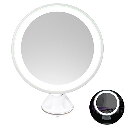 achat led miroir de maquillage miroir cosm tique clair lumineux grossissant x 7. Black Bedroom Furniture Sets. Home Design Ideas
