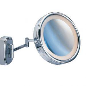 Miroir-cosmtique-mural-Touch-clair-pivotant-100-et-500-chrome-miroir-de--165-cm--225-x-36-cm-0