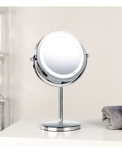 achat miroir grossissant lumineux led pied. Black Bedroom Furniture Sets. Home Design Ideas