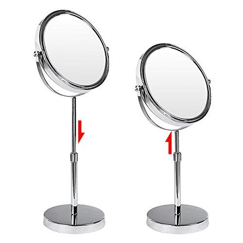Achat songmics miroir de maquillage ou rasage double face for Ou acheter des miroirs