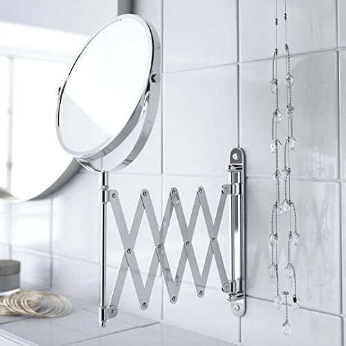 Achat top home solutions miroir maquillage grossissant for Miroir extensible