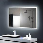 Anten-Elgant-25W-Lumire-Miroir-LED-6000K-Blanc-IP65-Miroir-Mural--LED-avec-des-Lumires-Emettant-de-Quatre-Cots-100x60cm-Rectangle-0-0