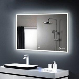 Anten-Elgant-25W-Lumire-Miroir-LED-6000K-Blanc-IP65-Miroir-Mural--LED-avec-des-Lumires-Emettant-de-Quatre-Cots-100x60cm-Rectangle-0