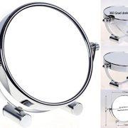 HIMRY-Miroir-cosmtique-sur-pied-Grossissement-x10-Compact-Miroir-de-Table-5-inch-orientable-sur-360-100-et-1000-chrome-miroir-de--125-cm-KXD3104-10x-0