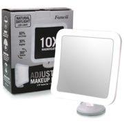 Fancii-Miroir-Grossissant-10x-de-Maquillage-avec-Lumires-LED-Miroir-clair-de-Voyage-Ventouse-dAttache-Sans-Fil-Ajustable--360-Miroir-clair-Carr-Portable-0-0