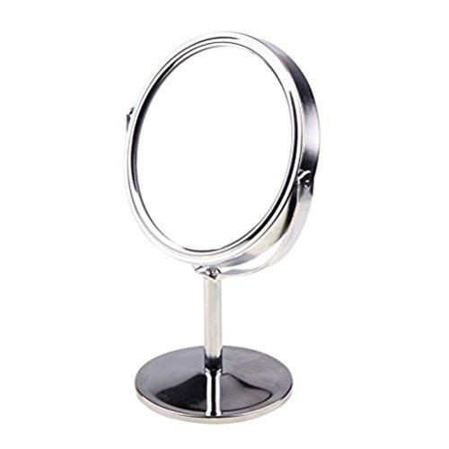 Frcolor-Maquillage-miroir-Double-Face-Miroir-de-table-grossissant-0