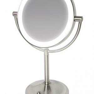 Miroir-en-acier-bross--clairage-LED-variable-sans-fil-et-grossissant-x7-0
