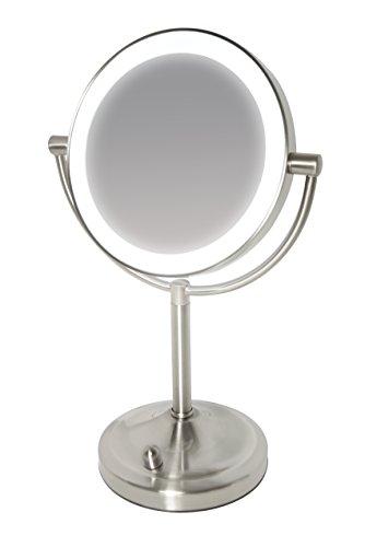 Miroir-en-acier-bross–clairage-LED-variable-sans-fil-et-grossissant-x7-0