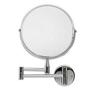 Lumaland-Miroir-de-maquillage-mural-de-haute-qualit-avec-bras-articul-Grossissement-x5-0