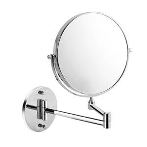 Uniquebella-8-pouces-Miroir-mural-Grossissant-x7-fois-grossissement-Extension-Pliant-Rond-Double-Face-360-degrs-rotation-0