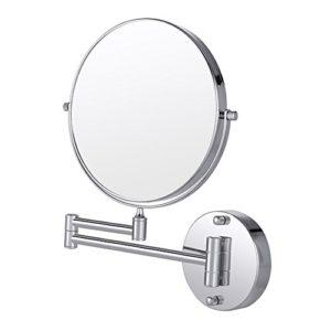 Cozzine-Miroir-Mural-Grossissant-Double-Face-Mirror-Mural-Miroir-10x-1x-Grossissant-Pivotant-Extensible-et-Finition-Chrome-pour-Salle-de-Bain-SPA-et-de-lHtellerie-0