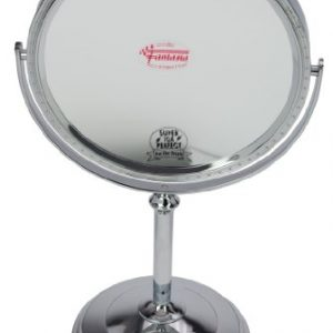 Fantasia-43025-Miroir-sur-pied-grossissant-parfait-x-10-Argent-Hauteur-37-cm--20-cm-0