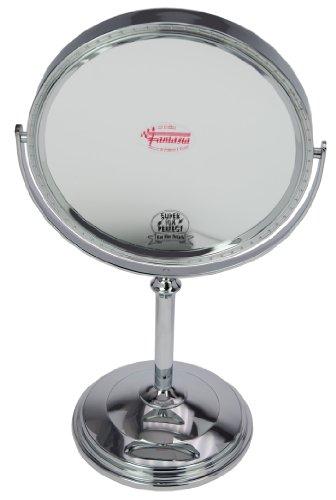 Fantasia-43025-Miroir-sur-pied-grossissant-parfait-x-10-Argent-Hauteur-37-cm–20-cm-0
