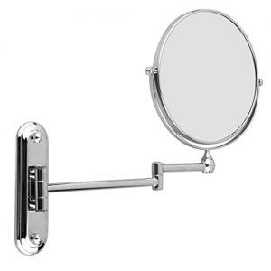 Floureon-8-Pouces-Miroir-Mural-Grossissant-10-Fois-Extension-Pliant-Double-Face-Normale-et-Grossissant-x10-360-Degrs-Rotation-0