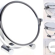 HIMRY-Miroir-cosmtique-sur-pied-Grossissement-x7-Compact-Miroir-de-Table-5-inch-orientable-sur-360-100-et-700-chrome-miroir-de--125-cm-KXD3104-7x13-cm-KXD3104-7x-0