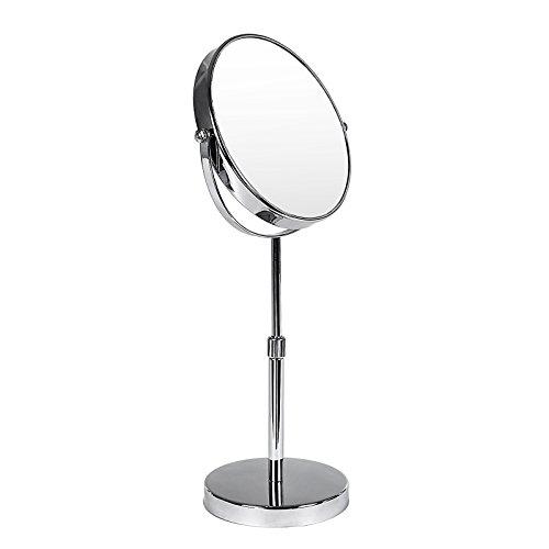Songmics-miroir-de-maquillage-ou-rasage-double-face-sur-pied-mobile-hauteur-rglable-10-fois-grossissement-BBM008-0