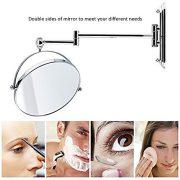 Spaire-Miroir-Salle-de-Bain-7x-Grossissant-Normal-Double-Face-8-Inch-Mural-Miroir-Maquillage-Grossissant-Pivotant-Extensible-et-Chrom-0-0