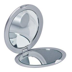 Miroir-de-poche-Miroir-Miroir-de-voyage-unilatralement-avec-option-Loupe-0