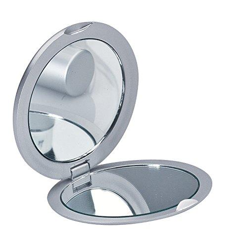 Achat miroir de poche miroir miroir de voyage unilat ralement avec option loupe for Miroir loupe