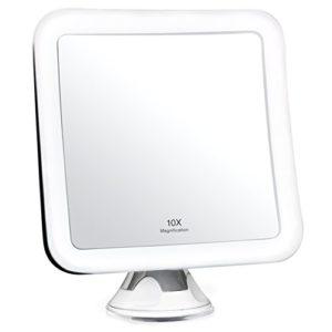 Fancii-Miroir-Grossissant-10x-de-Maquillage-avec-Lumires-LED-Miroir-clair-de-Voyage-Ventouse-dAttache-Sans-Fil-Ajustable--360-Miroir-clair-Carr-Portable-0