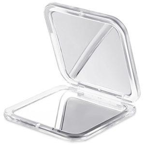 Jerrybox-Miroir-10X-Grossissant-Ajustable-Sans-Fil-Pliable-Ventouse-dAttache-Blanc-Miroir-de-Poche-BONUS-Cadeau-Idal-pour-Femmes-Miroir-de-Poche-10X-0