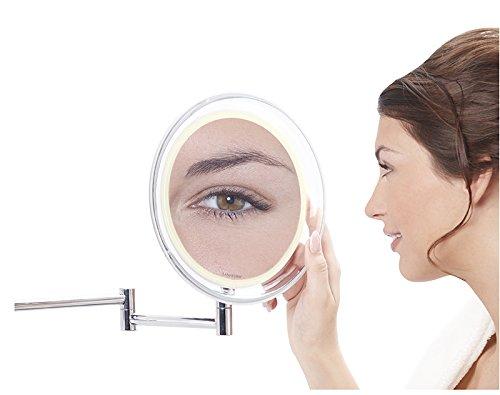 Miroir-mural-x-10-avec-clairage-Led-avec-batterie-0