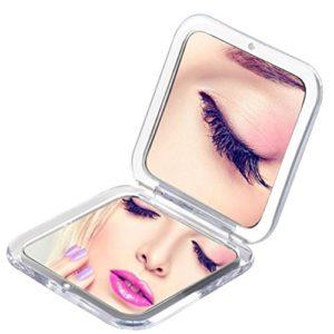 Miss-Sweet-Compact-Miroir-de-poche-dimage-relle-et-grossissement-10-x-0