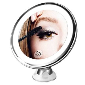 Bestope-miroir-maquillage-grossissant-10x-Lumineux16-LED-360rotation-ajustablefonctionnant-sur-pilesmiroir-de-salle-de-bain-portable-lumineux-sans-fil-Blanc-0
