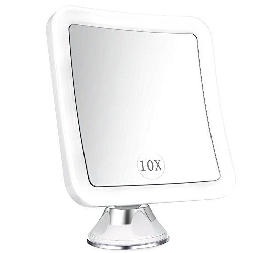 ELFINA-Miroir-Grossissant-x-10-Miroir-Maquillage-Lumineux-LED-De-Voyage-avec-Verrouillage-Ventouse-360Rotation-Miroir-de-Douche-Idal-pour-Rasage-et-Maquillage-dans-Salle-de-Bain-0