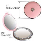 Rond-Miroir-Grossissant-Lumineux-Led-miroir-grossissant-10x-voyage-1x10x-FushoP-miroir-maquillage-led-miroir--main-Miroir-cosmtiqueRose-0-0