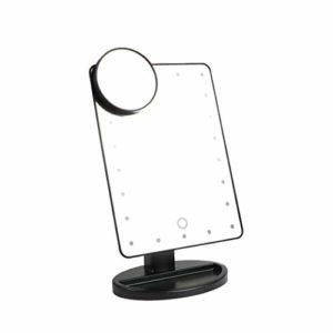 LUVODI-Miroir-Maquillage-Lumineux-22-LEDs-Miroir-Grossissant-X10-Amovible-Lumire-Rglable-Miroir-Makeup-sur-Pied-Rotation-180-Degrs-pour-Cosmtique-Salle-de-Bain-Chambre-Noir-0