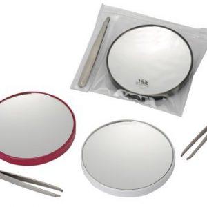 Fancy-Metal-Goods-Pack-Miroir-Grossissant-x-15-avec-Pince--Epiler-et-Petite-Pochette-0