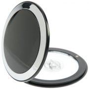 Fantasia-Miroir-de-poche-Grossissement-x7-Plastique-Noirargent-0