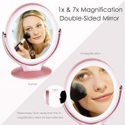Miroir-Maquillage-avec-21-Lumineux-LED-Miroir-Grossissant-1x-7x-Miroir-Vanit-Maquillage-avec-cran-Tactile-Lumires-LEDRotation-360-Miroir-Cosmtique-USB-Rechargeable-pour-Salle-de-Bain-Voyage-0-0