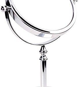 HIMRY-Miroir-sur-Pied-grossissant-x-6-en-Miroir-cosmtique-Rotatif--360-Sopo-Tomas-Ulbrich-KXD3106-7x-Miroir-de-Salle-de-Bain-avec-grossissement-x-7-Chrom-0
