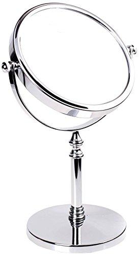 HIMRY-Miroir-sur-Pied-grossissant-x-6-en-Miroir-cosmtique-Rotatif–360-Sopo-Tomas-Ulbrich-KXD3106-7x-Miroir-de-Salle-de-Bain-avec-grossissement-x-7-Chrom-0
