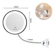 leegoal-10x-Miroir-Lumineux-de-Maquillage-Miroir-de-vanit-de-salle-de-bain-avec-ventouse-forte-et-360--rglable-flexible-col-de-cygne-sans-fil-et-compact-Voyage-miroir-0-0