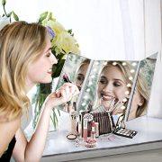 Dernire-Version-Miroir-Maquillage-HAMSWAN-Miroir-Grossissant-Triptyque-avec-21pcs-LED-Miroir-Lumineux-3X2X-avec-Ecran-Tactile-Alimentation-Double-Rotation-Rglable--180--0-0