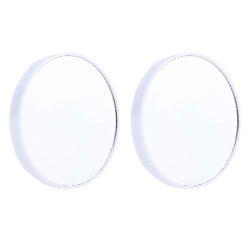 Homyl-2x-Miroir-de-Poche-Grossissant-10X-Miroir-Maquillage-Aspiration-Rond-pour-Maquillage-Blanc-0