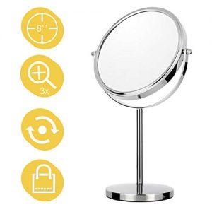 Maycho-8-Miroir-Grossissant-Miroir-de-Maquillage-Double-Face-Grossissement-13x-Miroir-sur-Pied-Chrome-0