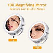 Maycho-miroir-grossissant-x10-7-miroir-grossissant-lumineux-avec-led-miroir-maquillage-chrome-miroir-sur-pied-certifi-CE-0-0