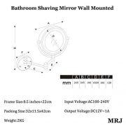 Miroir-Grossissant-Mural-Lumineux-X10-85-Pouces-LED-Salle-De-Bain-Miroir-Murale-360-Degrs-Rotation-Bouton-de-rglage-de-lintensit-Loupe-10x-et-Miroir-Plane-Ordinaire-EU-Plug-0-0