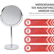Mirrorvana-Miroir-Grossissant-x10-Sur-Pied-De-Table-Pour-Maquillage-10-Fois-et-1-Fois-18cm-0-0