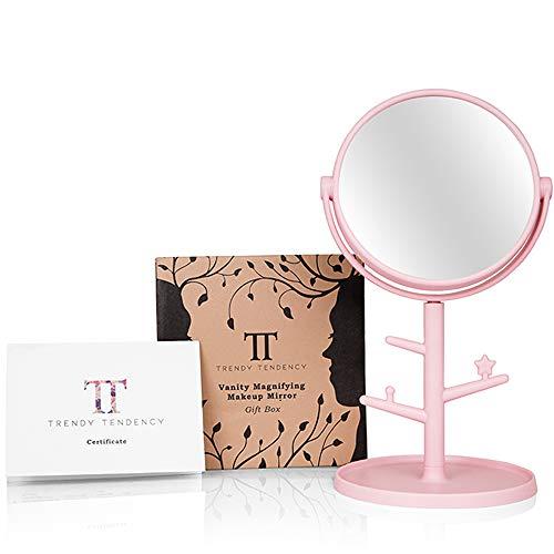 Miroir-Grossissant-x10-avec-Porte-Bijoux-Miroir-Maquillage-avec-Boite-Cadeau-Miroir-Coiffeuse-avec-Rotation-360Decoration-Salle-de-Bain-Idee-Cadeau-Femme-Fille-Amie-Pour-Noel-et-Anniversaire-0