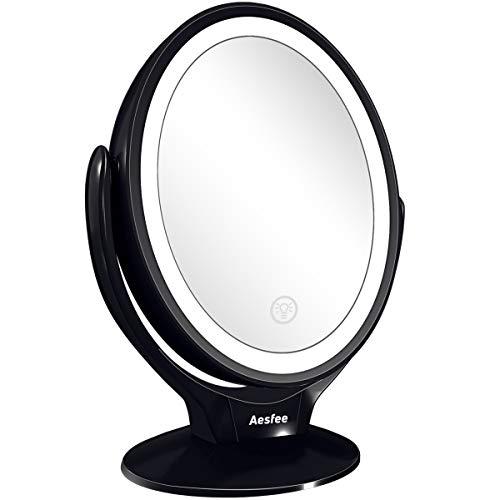 Aesfee-Miroir-Maquillage-avec-21-Lumineux-LED-0