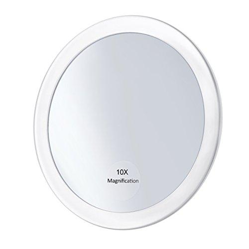 Frcolor-Miroir-grossissant-10X-avec-3-ventouses-Miroir-cosmtique-Miroir-de-poche-pliant-59-Miroir-de-maquillage-pour-les-femmes-filles-Blanc-0
