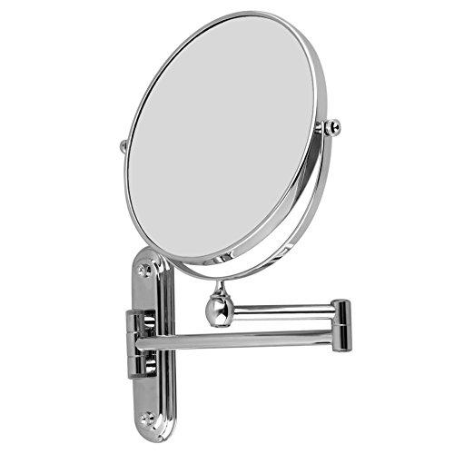Malayas-8-Pouces-Miroir-Mural-Grossissant-X10-Miroir-de-Maquillage-Mural–Double-Face-Miroir-Cosmtique-Extension-et-Pliant-Pivotant-Idal-pour-Rasage-et-Soin-de-Peau-Dans-Salle-de-Bain-SPA-Htel-0